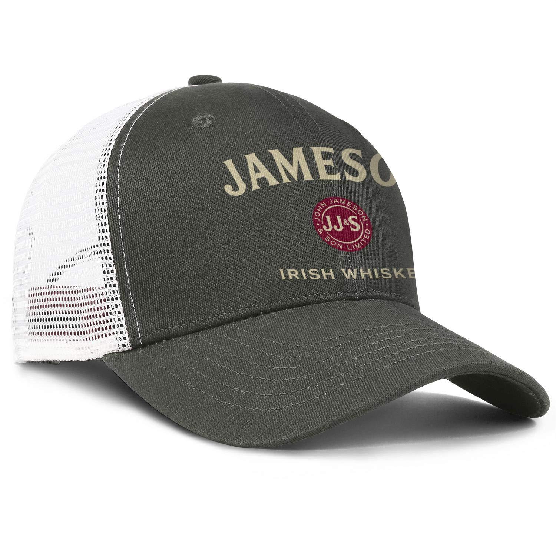Happy-life Jameson-Irish-Whiskey-Logo Unisex Boy Casual Hip Hop Hat Outdoor Baseball Cap