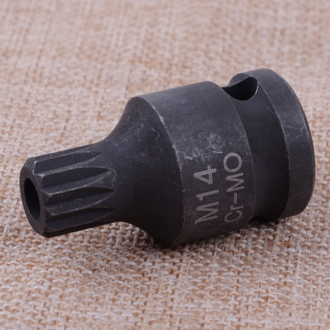 CITALL Douille m/âle /à chocs//carr/é creux 12,5 mm /Étrier de frein arri/ère DR Socket Taille M14 12 livres 1//2 pouce Outil Mat/ériel de Cr-Moly pour VW MKV