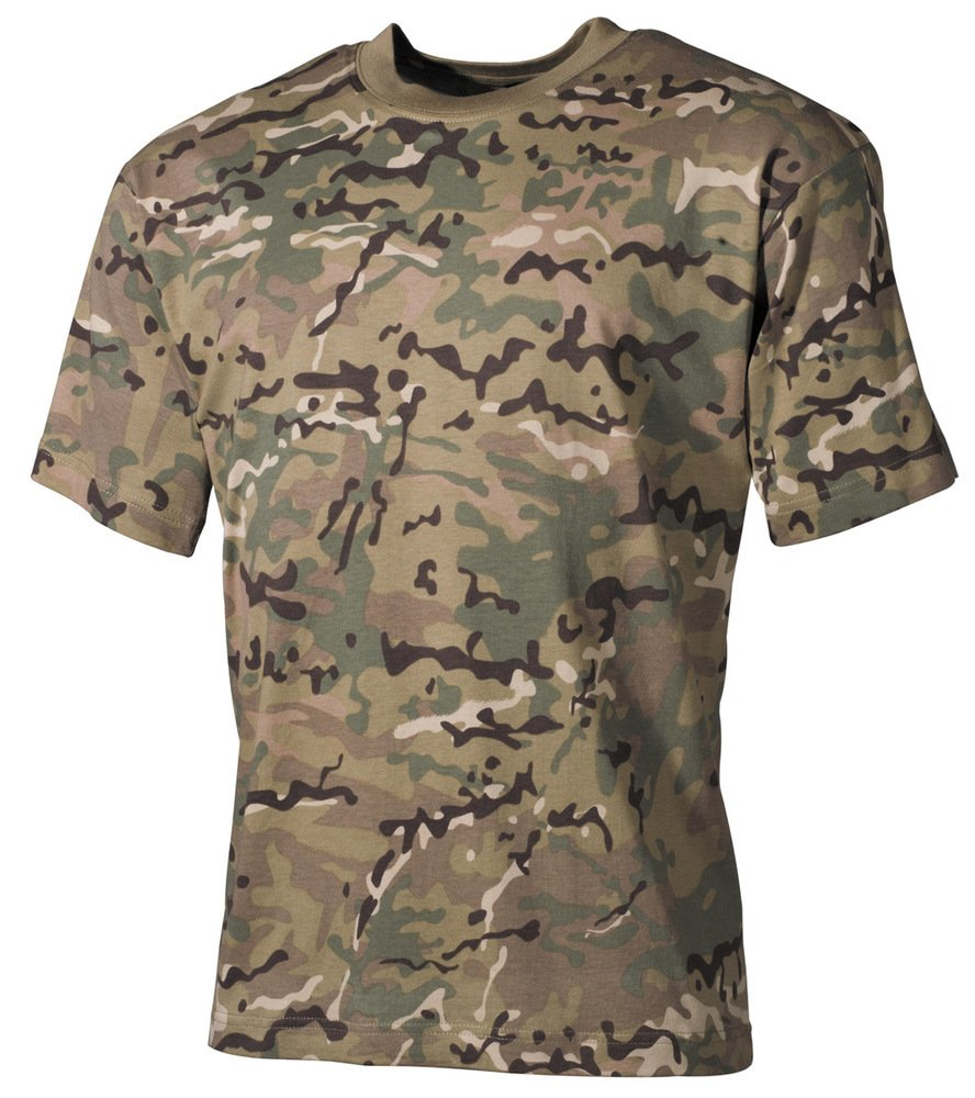 MFH Hombre T-shirt Camiseta Operation Camo