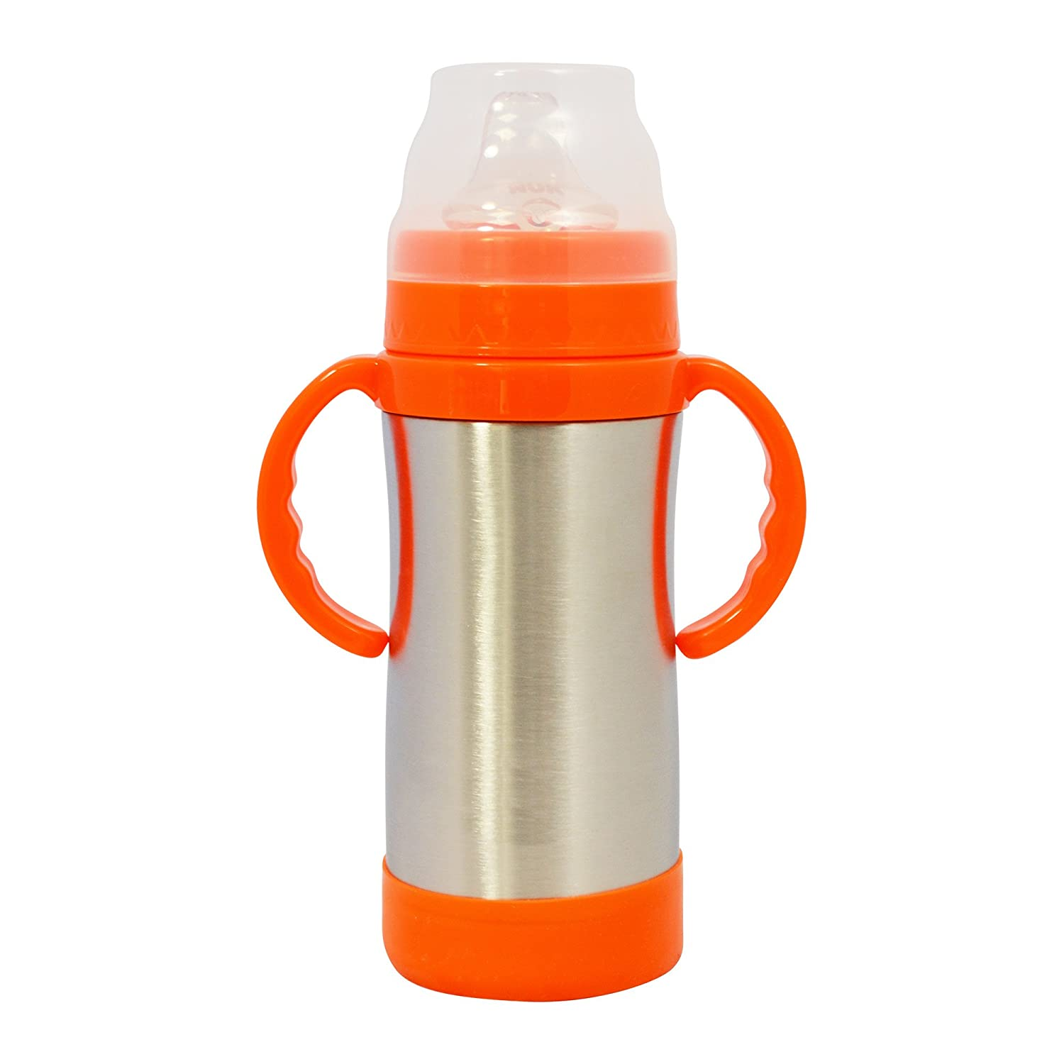 EcoVessel Sippy Kids Stainless Steel Water Bottle