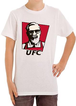 dc882b913 Conor McGregor UFC KFC Parody Funny Kids Unisex T-Shirt Ages 5-13 X ...
