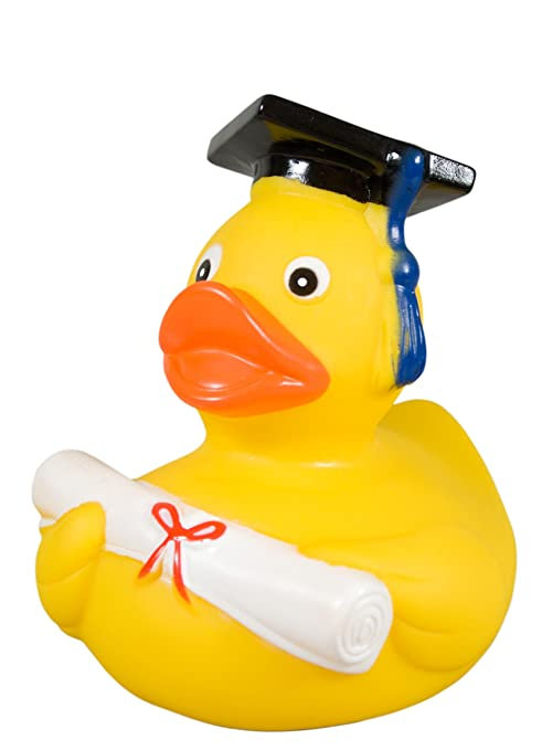 Paperella da bagno laureato diplomato  Amazon.it  Giochi e giocattoli 7587674108f8