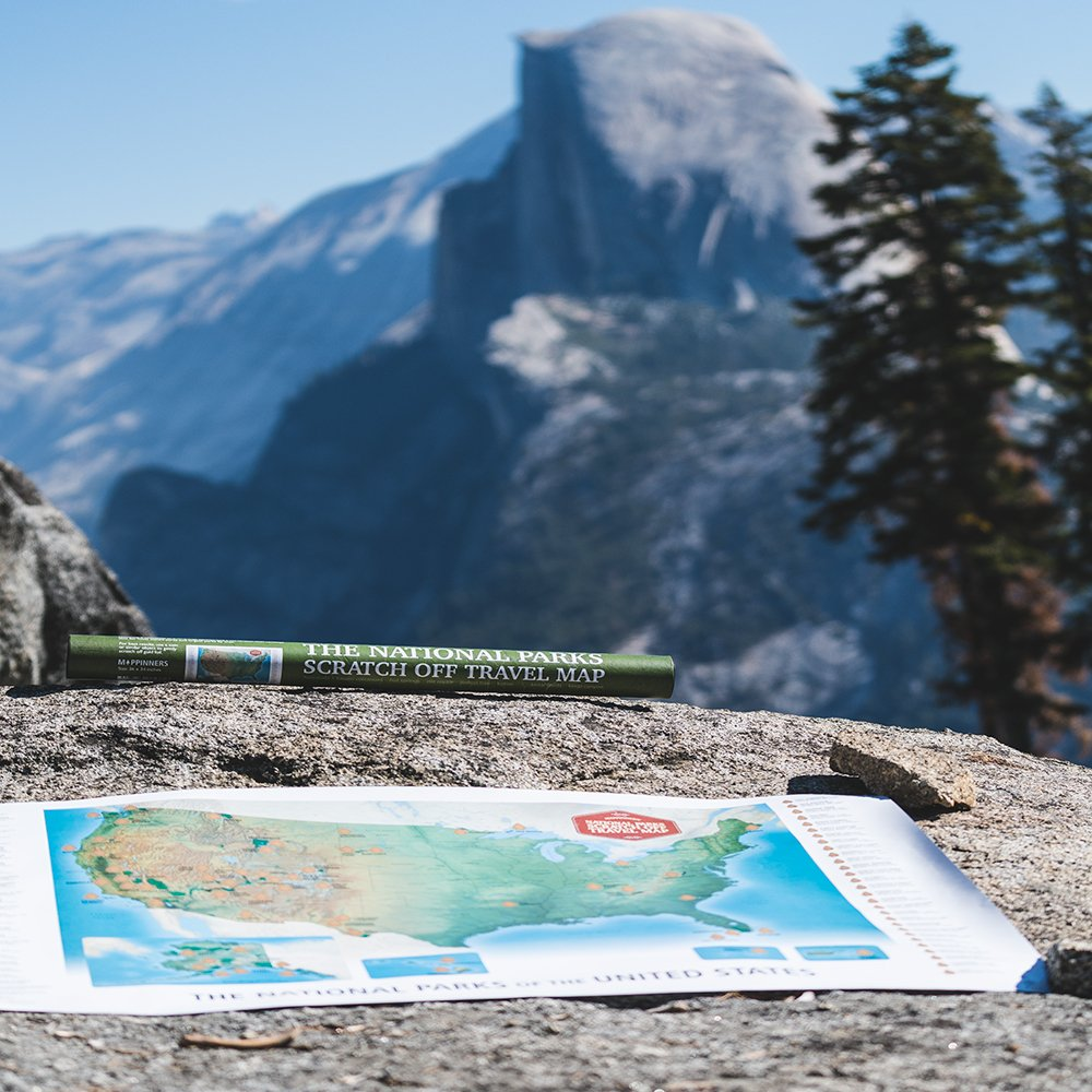 Amazon the national parks scratch off travel map usa by amazon the national parks scratch off travel map usa by mappinners office products sciox Image collections