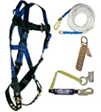 Falltech 7593a Ft Basic Harness With Roofer S Kit