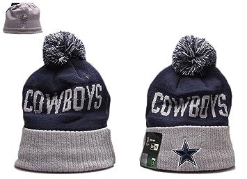 Amazon Com New Era Dallas Cowboys Sport Knit Beanie Winter Hat