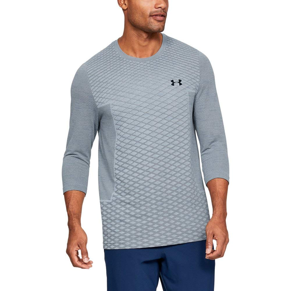 Under Armour Mens Vanish Seamless 3//4 Sleeve