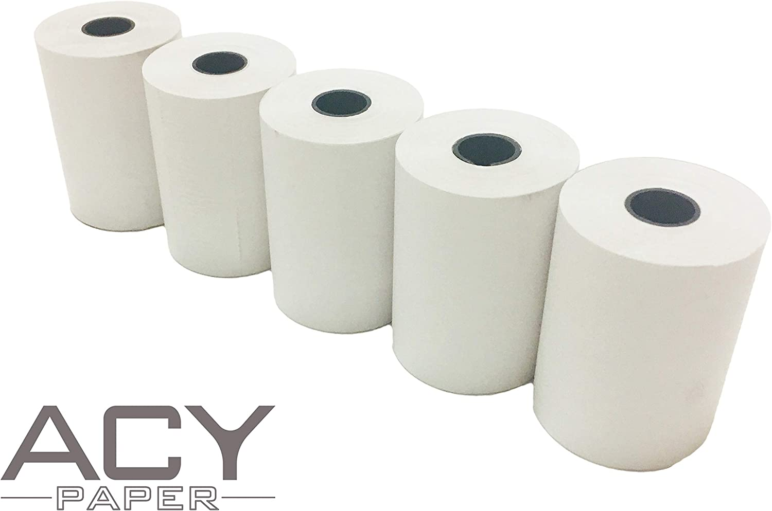 "32 NEW ROLLS  ** FREE SHIPPING ** 2-1//4/"" x 85/' PoS THERMAL RECEIPT PAPER"