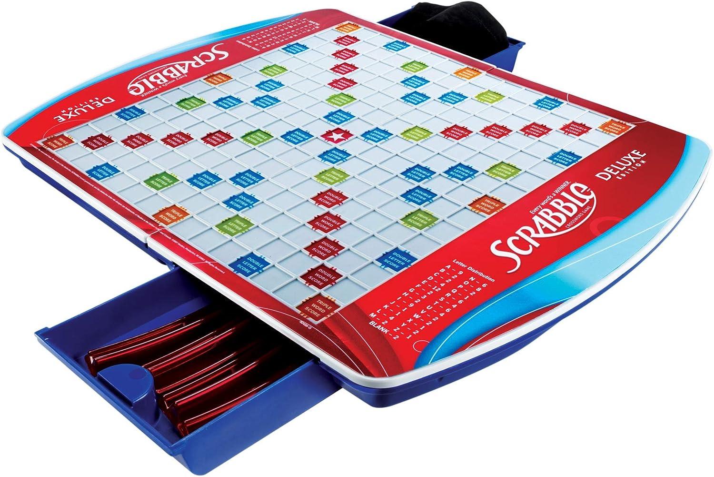 Hasbro Scrabble Deluxe Juego: Amazon.es: Juguetes y juegos