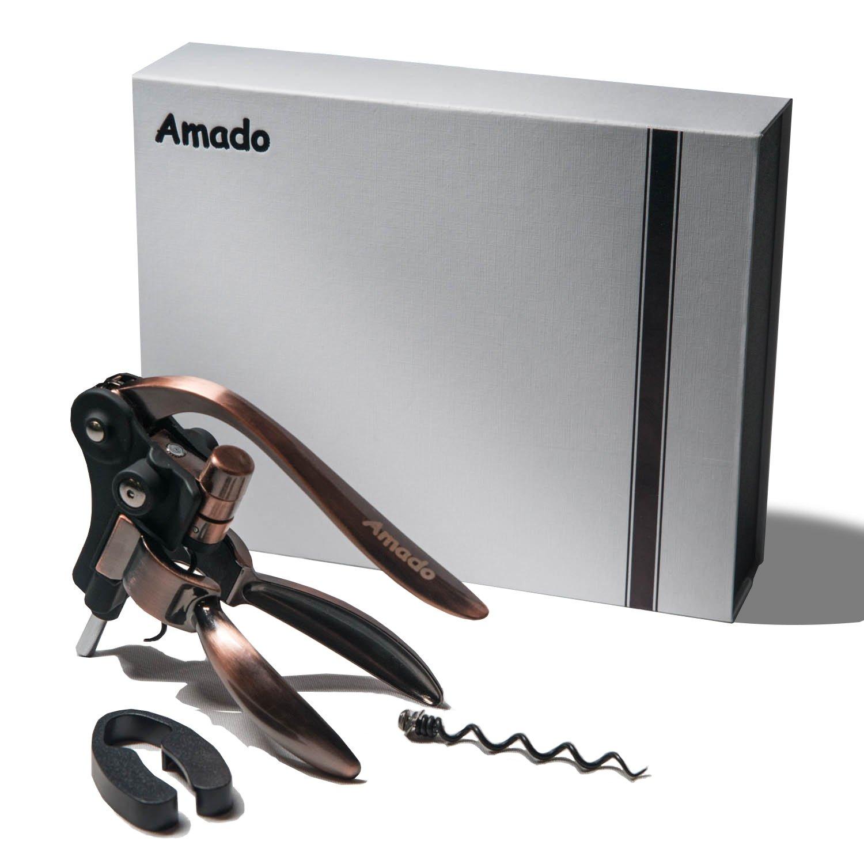 Rabbit Corkscrew, Amado Rabbit Wine Opener Stainless Steel Red Wine Bottle Opener Tool Kit