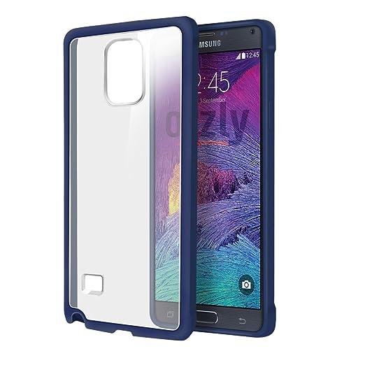 8 opinioni per Orzly®- SAMSUNG NOTE 4- Fusion Gel Hard Case (COPERTINA / CUSTODIA) BLU Phone