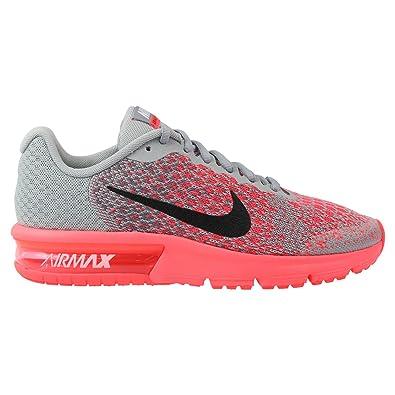 Nike Unisex Kinder Air Max Sequent 2 Laufschuhe, Grau (Wolf Grey ...