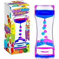 LiVOND Liquid Motion Bubbler Timer, Colorful Liquid Hourglass Sensory Toys for Relaxation & Calming,Fidget Toy for…