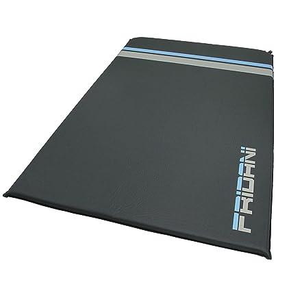 Fridani ISO DUO 500 antislip - Soft-Touch esterilla aislante hinchable, 193x120x5 cm,