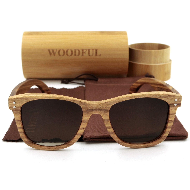Wooden Bamboo Glasses Sunglasses Polarized Polarized)
