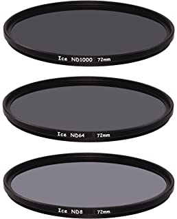 Solid ICE Shockproof 67mm ND1000 Filter Neutral Density ND 10 Stop Tempered Optical Glass