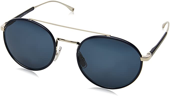 BOSS Hugo Boss Hugo Boss Herren Sonnenbrille Boss 0886/S 9A 3YG, Gold (Light Gold/Blue), 55