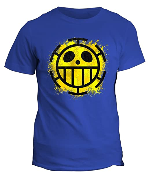 3 opinioni per Tshirt one piece Trafalgar Law pirate cartoon cartone manga- in cotone by