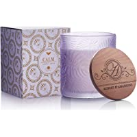 Aubert & Amandine Pastel Collection Luxury Scented Soy Candle for Stress Relief & Relaxation High Intensity Aromatherapy…
