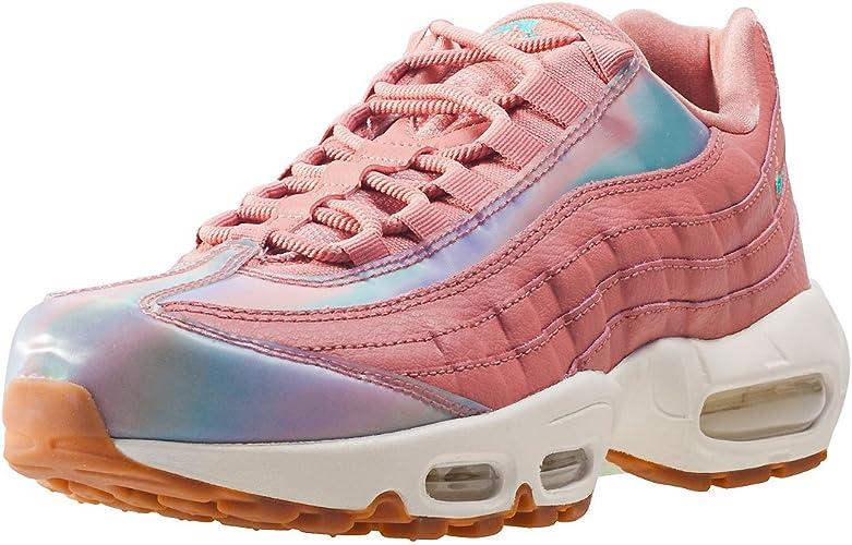 Nike Air Max 95 Se Red Stardust Damen Sneaker, Blush Pink, 8