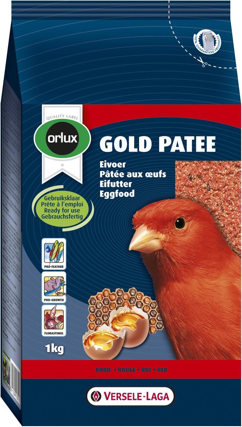 Orlux Pasta para pájaros roja Gold Patee 1 Kg