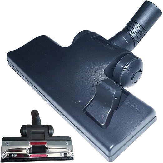 Cepillo universal para aspiradora con articulación basculante y 4 ruedas, boquilla de suelo y tubo de 35 mm, con cepillo intercambiable, apto para aspiradoras de suelo con tubo telescópico (35 mm): Amazon.es: Hogar