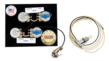Amazon.com: Fender \'72 Deluxe Tele Telecaster Wiring Harness Solid ...
