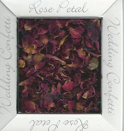 Desconocido Rosa de Confeti para Bodas Biodegradable Confeti ...