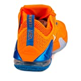 Nike Mens Lebron XII Low Bright Citrus/White-Total