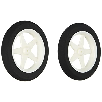 "Du-Bro 300MS 3"" Micro Sport Wheel (2-Pack): Toys & Games"