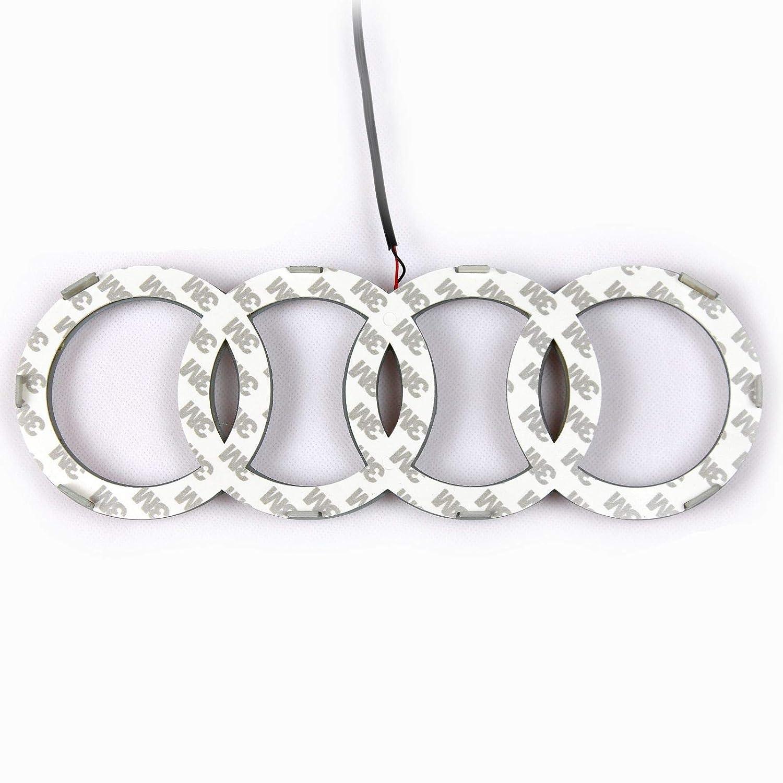 Griglia logo anteriore LED illuminato Glow Light badge