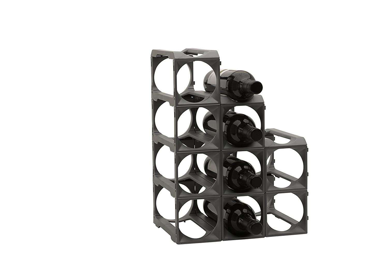 Stakrax - Stackable, Modular Wine Rack - 12 Bottle Set MMP Living