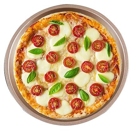 Bandeja de pizza Bandejas para Horno Bandeja para Hornear para el hogar Molde para Hornear No