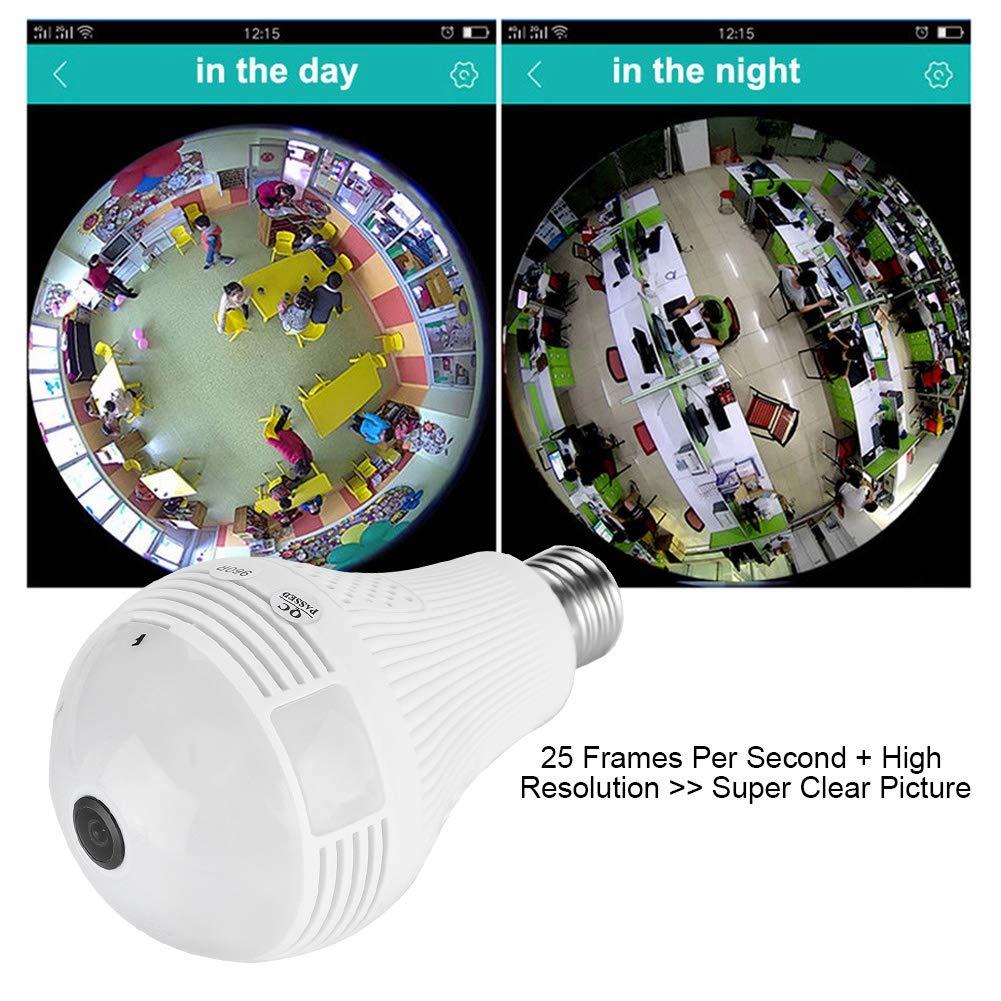 rilevamento del movimento e comunicazione bidirezionale 960P//1080P WIFI telecamera di sicurezza camera 360 gradi monitor per la sicurezza domestica remota 1080P+IR