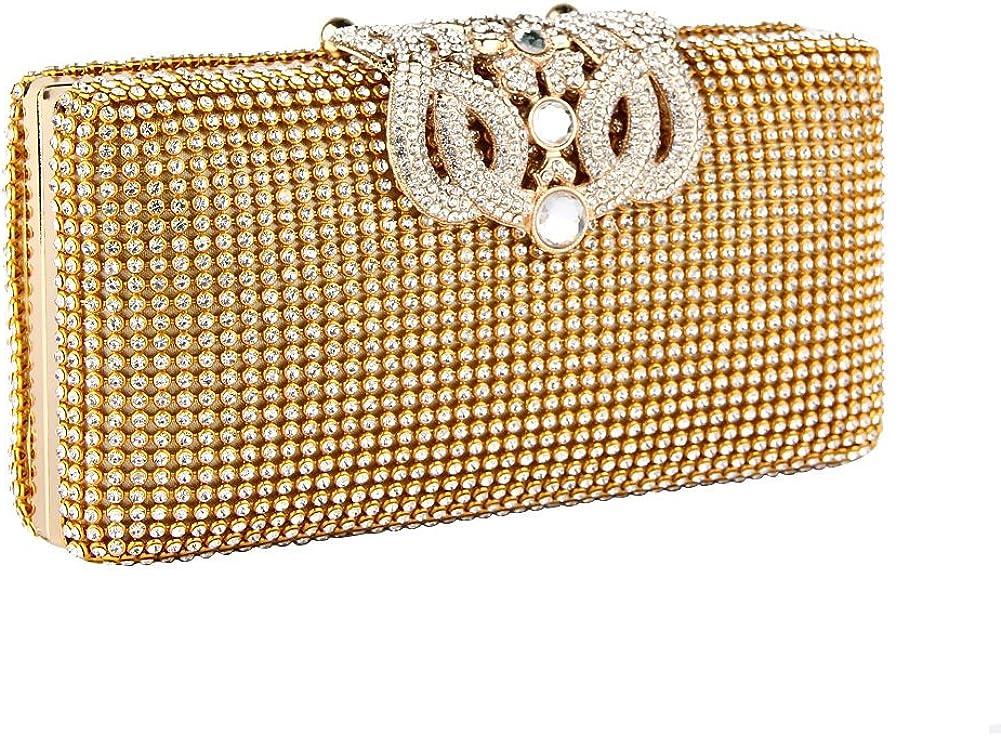 Details about  /Korea Diamond Bag Girl Diamante Clutch Purse Handbag Evening Party Wedding