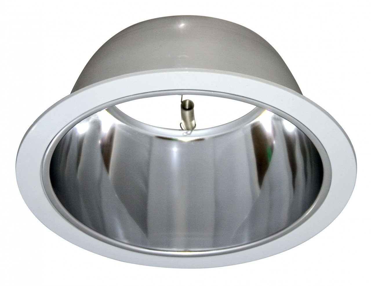 Polished alzak reflector chrome for 6 recessed can recessed polished alzak reflector chrome for 6 recessed can recessed light fixture trims amazon arubaitofo Image collections