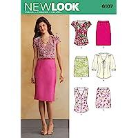 New Look Tamaño 6107 8/10/12/14/16/18 para Blusas