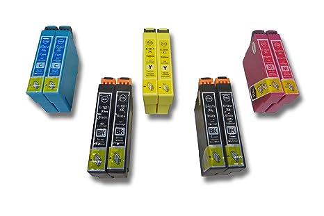 Set de 10 Cartuchos de Tinta (Cartuchos de impresión) para Epson ...