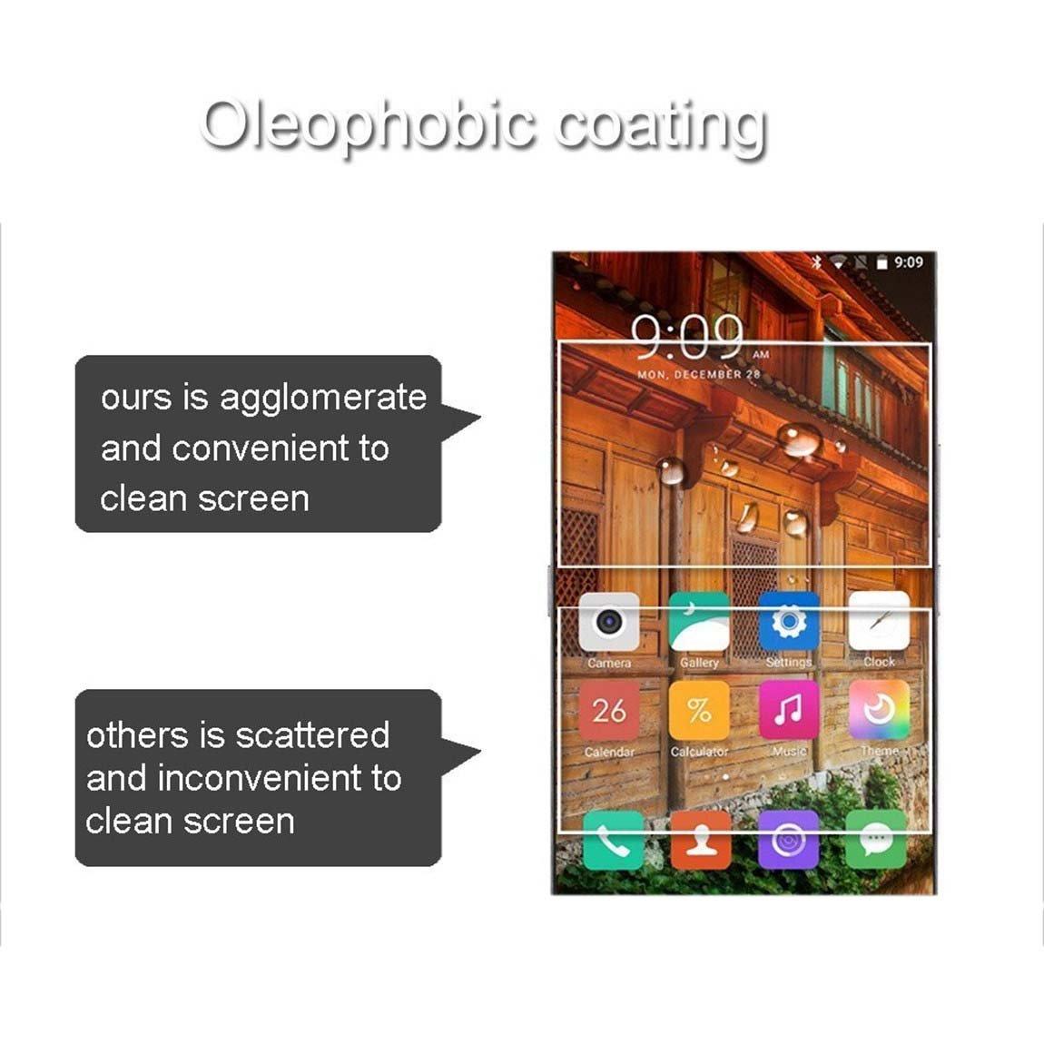 Protect Film Compatibile con Samsung Gear S3 Frontier Classic 2-Pack Nota: Non Full Coverage 9H Calotta di Protezione in Vetro temperato E-Hamii HD Proteggi Schermo Anti-graffio
