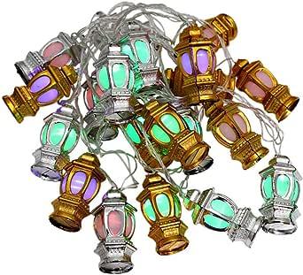 20 LED Lantern Decorative Light - Multi Color