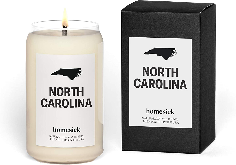 Homesick Scented Candle, North Carolina (2020 Version)