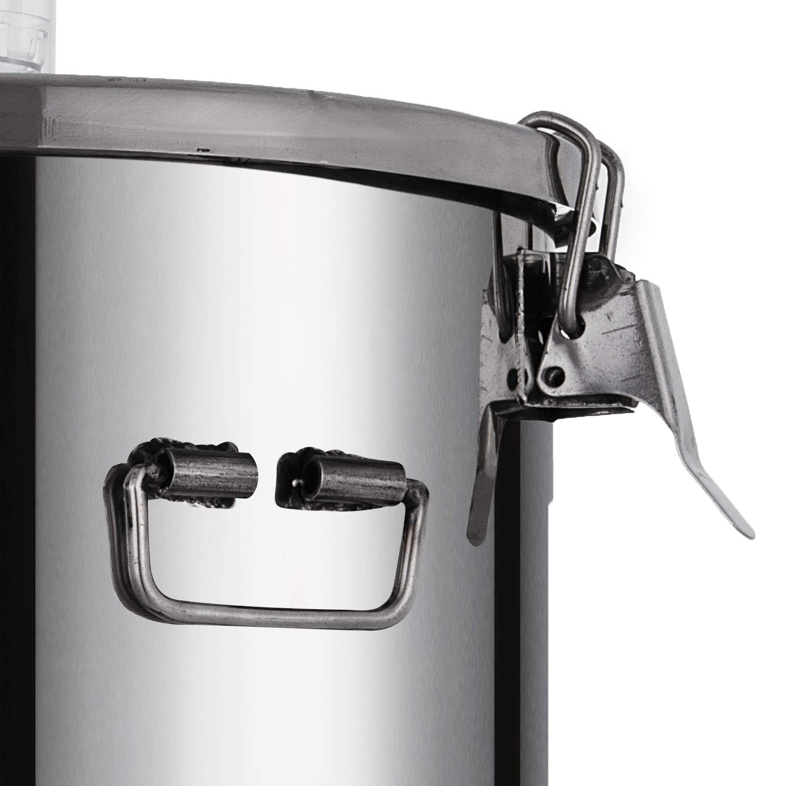 VEVOR 7 Gallon Stainless Steel Brew Fermenter Home Brewing Brew Bucket Fermenter With conical base Brewing Equipment by VEVOR (Image #8)