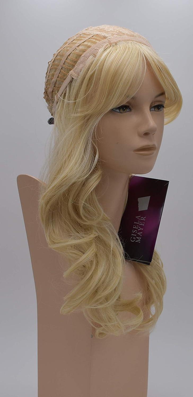 Peluca de Luttmann Elvira, corte por niveles, peluca de calidad en color rubio claro y mezcla de rubio claro, peluca moderna como pelo real: Amazon.es: ...