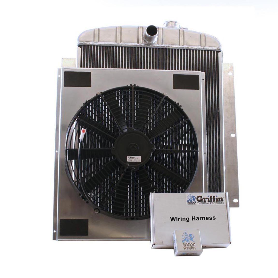 Griffin Radiator CU-70056 ComboUnit Radiator and Electric Fan Kit