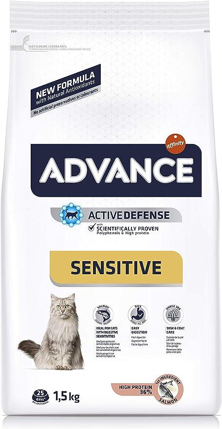 Advance Sensitive - Pienso para Gatos con sensibilidades ...