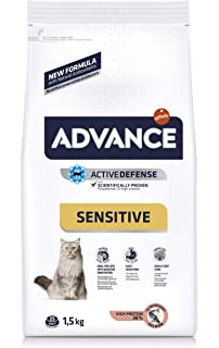 Advance Sensitive Pienso para Gatos Adultos con Salmón