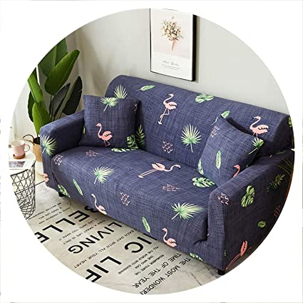 Amazon.com: Glad You Came Sofa Cover Elastic Couch Cover ...