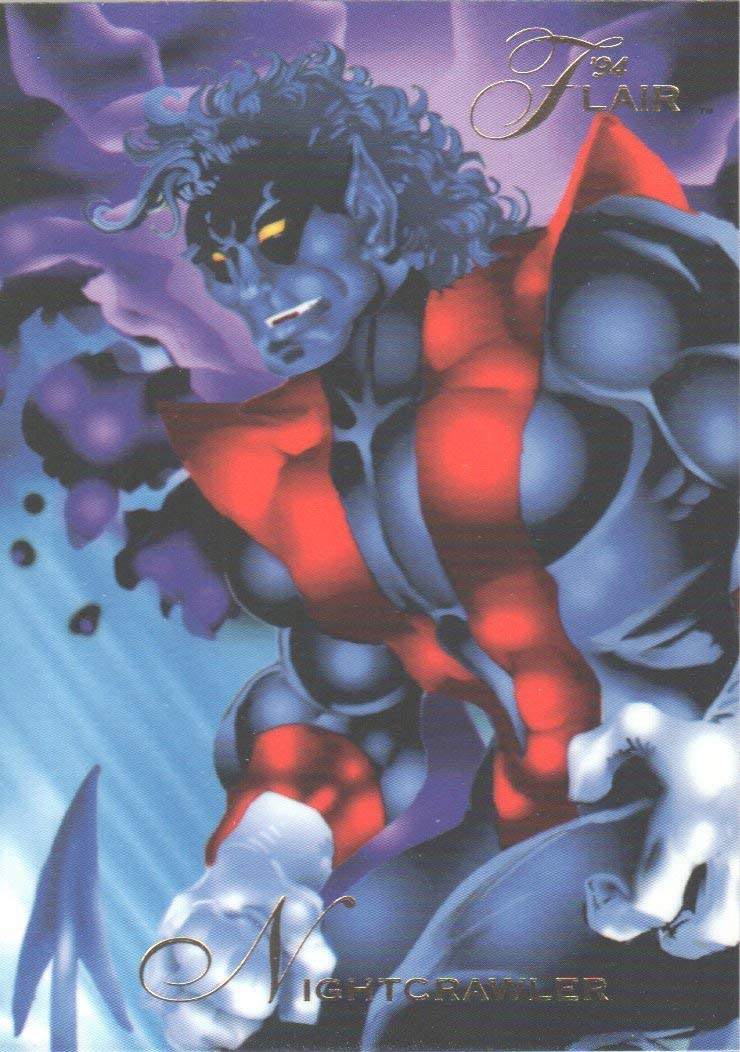 NIGHTCRAWLER X-Men Fleer Ultra 1994 BASE Trading Card #122