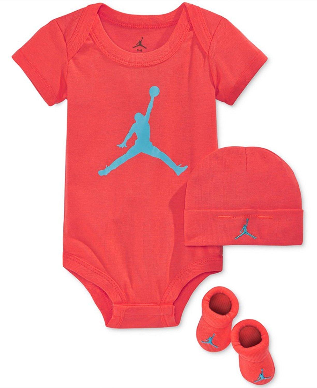 Amazon Jordan Baby Clothes 3 Piece Basketball Jersey
