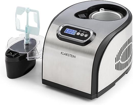 Klarstein Sweet Dreams - Heladera, Máquina de helados, Yogurtera ...