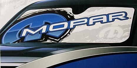 Amazon.com  Mopar truck dash auto car sun shade protector logo ... 2813353e035
